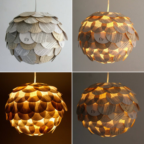 Etsy * Zipper 8 Lighting's Lamps