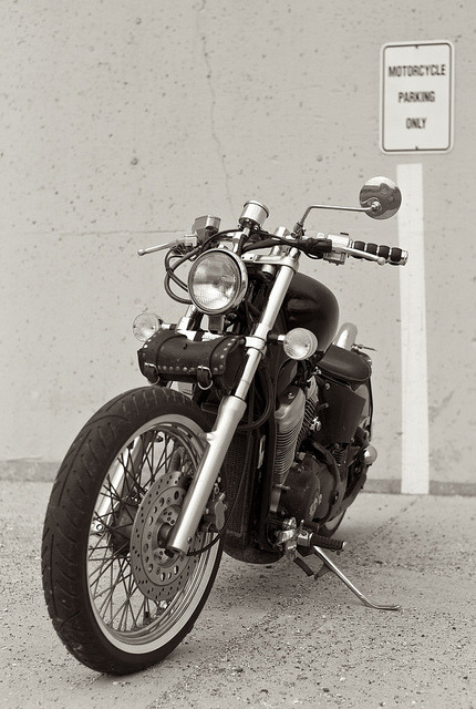 20110509_L1002539 on Flickr.Via Flickr: Motorcycle Parking Only