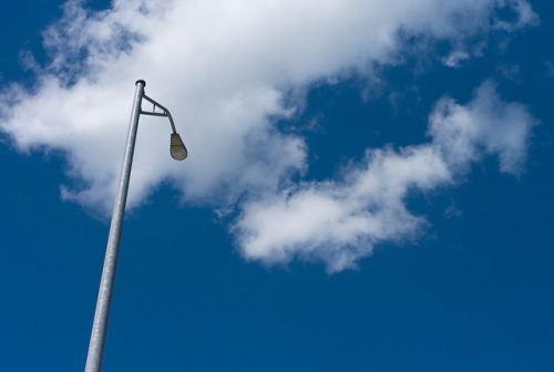 20110506_L1002485 on Flickr.blue sky, clouds and light pole