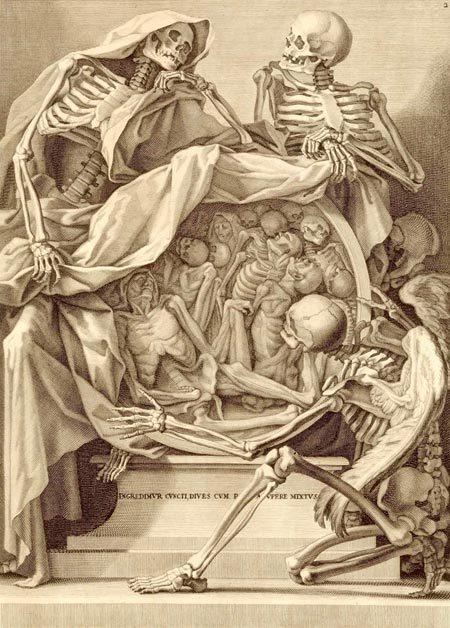qmannola:  Bernardino Genga's Anatomia per Uso et Intelligenza del Disegno, 1691