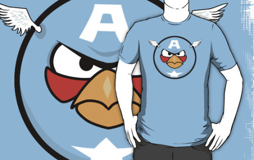 Capitan Angriness (via redbubble)