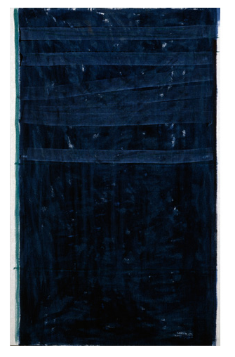 mellabrown:  John Zurier Night 25, 2007-2008. distemper on linen,  42 x 26 inches
