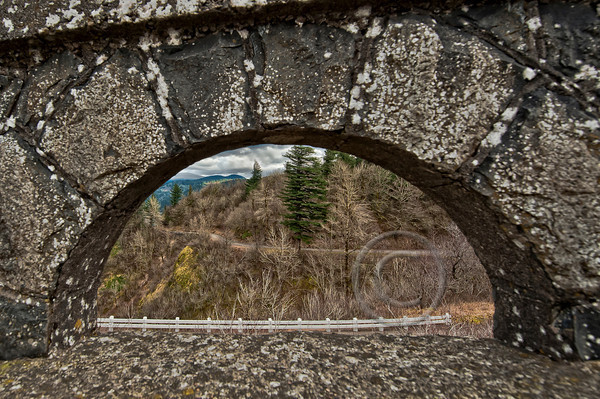 Oregon~Window to the Gorge~Vista House at Crown Point, Oregon Gorge