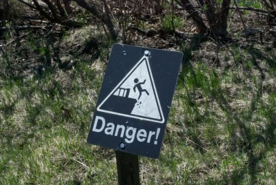It's dangerous to jump off cliffs. Don't do it.
