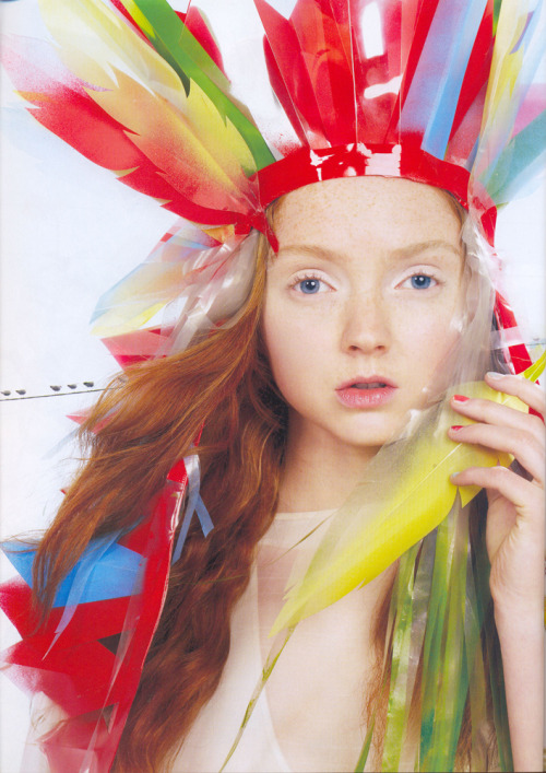 Lily Cole for Vogue UK