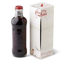2011 marks the 125th anniversary of Coca-Cola. As part of this celebration, Coca-Cola have re-launched a limited number of the original Hutchinson Bottle, available in stores such as London's Selfridges.