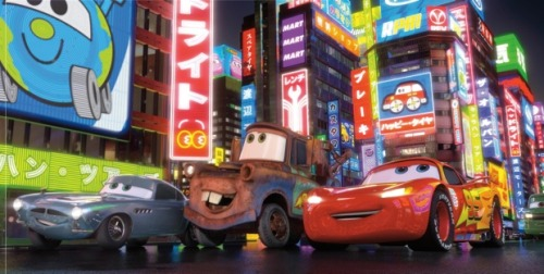How Pixar's John Lasseter dug into the cutting-room-floor scrap heap of  the first Cars movie to come up with the idea for the new film.