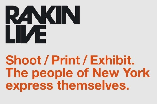"milkstudios:  The legendary photographer Rankin is bringing his LIVE! Portrait shoot to MILK Gallery from June 1-5. Rankin and his team will shoot, retouch and print around the clock for five days, creating and hanging an original exhibition in the process. THE CALL IS OUT - Rankin is inviting New York's exceptional and stylish personalities to his set.If you're over 16, submit a photo of yourself and explain (briefly) ""why"" to rankinliveusa@rankin.co.ukThe most original applicants will be selected and invited to Milk Gallery for their personal shoot.Each portrait will cost $100. All proceeds will go to Oxfam.  Too bad I don't live in NY. Dammit."