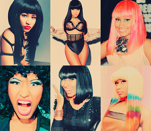 TOP 10 GIRL CRUSHES↳ Nicki Minaj