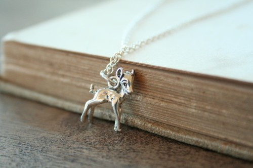 Adorable deer charm. By Two Little Doves.