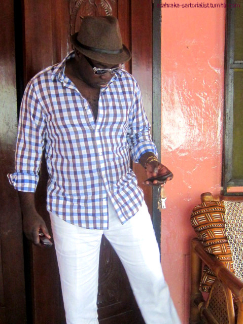 Some great tropical looks from our man Adabraka Sartorialist. After all, you've gotta dress right if you're gonna go to Ghana.