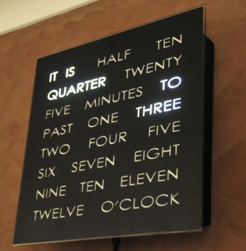 jordana-elise:  the coolest clock ever