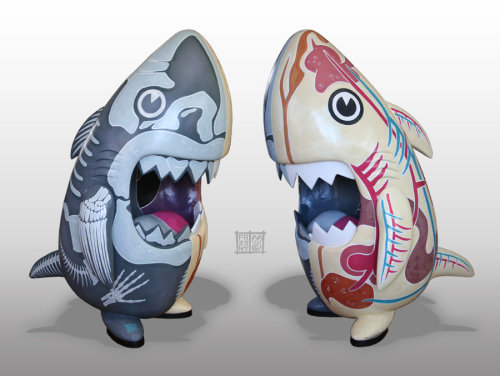 Custom 36 inch Sharky - by Jason Freeny Blog | deviantART | Facebook (Submitted by justintrr)