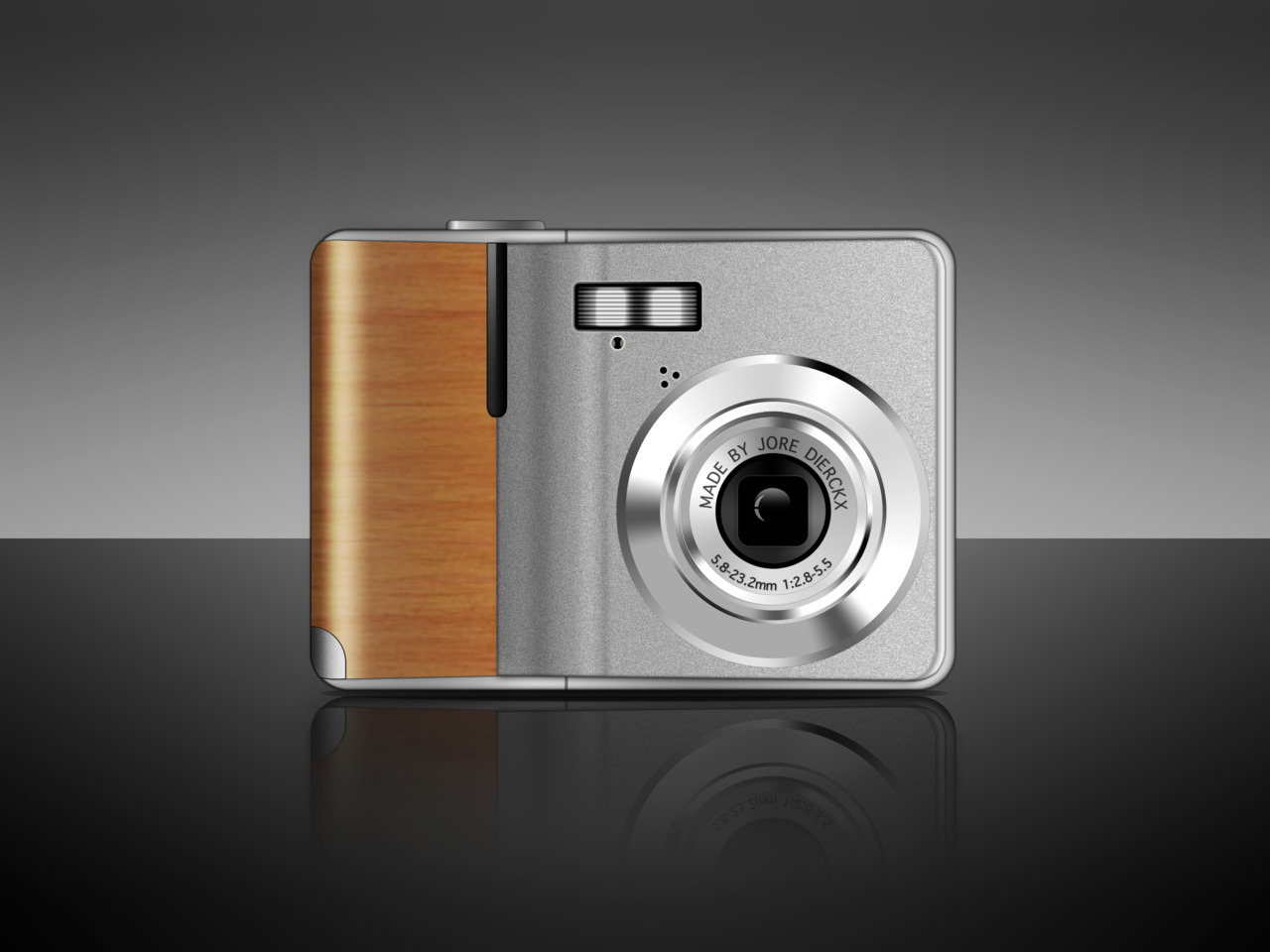 psdtuts+    Create a Digital Camera With Wooden Accents Using Photoshop  look at my version!!