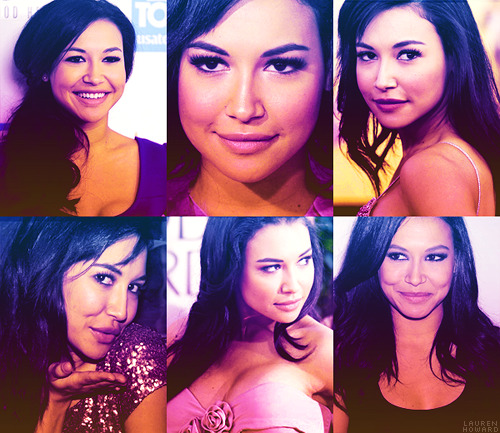 TOP 10 GIRL CRUSHES↳ Naya Rivera