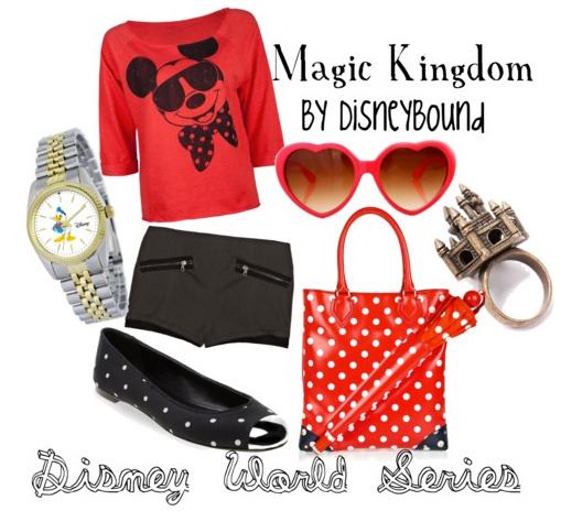 Magic KingdomDisney World Series  (I'm trying to do these ones more casual so they can be worn at Disney if you chose)