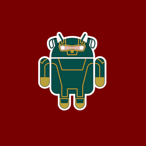 "The latest recruit to the #droidarmy: Kick-Assdroid. No longer vigilantasizing, now an integral covert-ops member in the ever expanding Army of Droid. Available along with the rest of the Droid Army at redbubble on hoodies/t-shirts and stickers. Text free version (as above) or with added name text NOTE: it was suggested that a suitable name for this one could be ""Kick-Apps"" – any votes for that? (easy enough to alter.)"