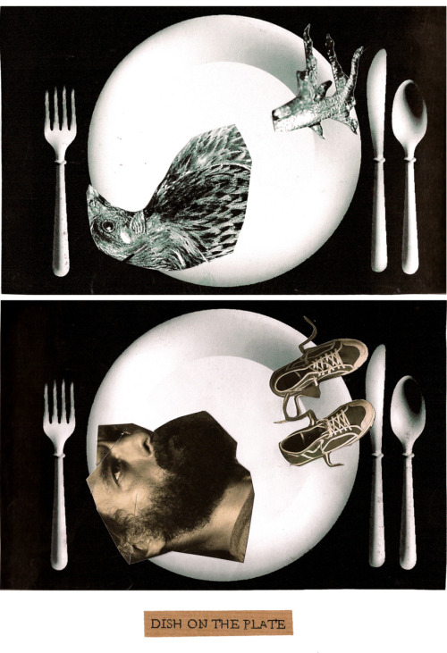 DISH ON THE PLATE (animalism)