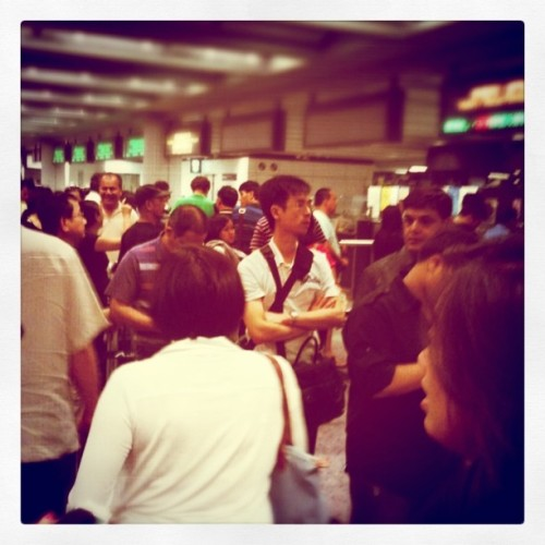 Taken with Instagram at Hong Kong International Airport (HKG) 香港國際機場