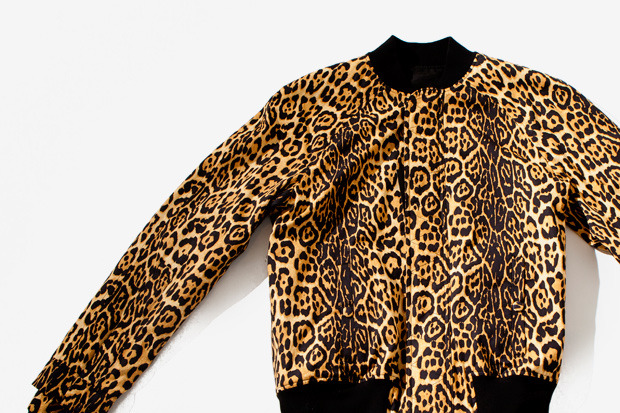 Givenchy bomber leopard jacket. WANT!