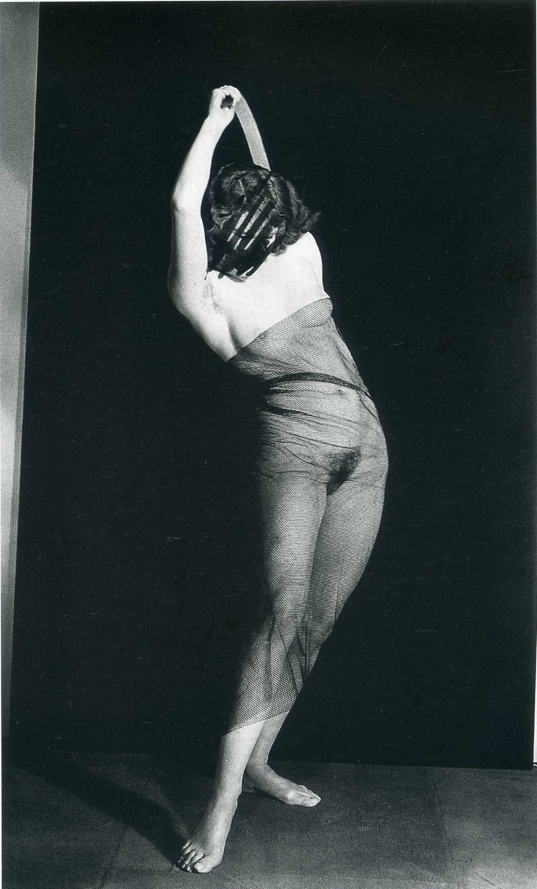 frenchtwist:  via foxesinbreeches:  Nu au voile (Veiled Nude) by Man Ray, 1928 (Another version at billyjane's with head/face intact)
