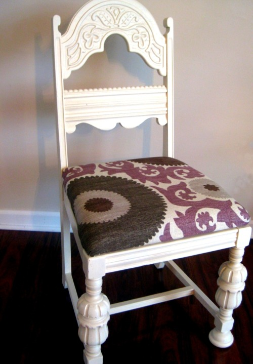 Etsy * Grey Maggy's Refinished Chairs
