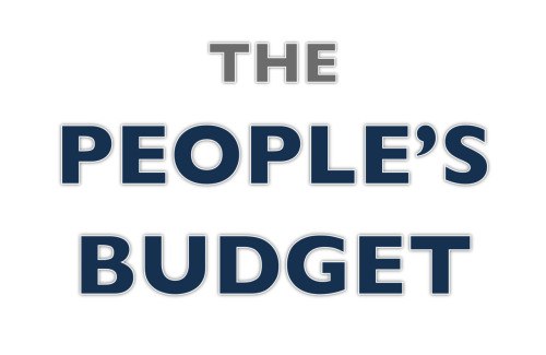 "The People's Budget Deficit reduction of $5.6 trillion Primary spending cuts of $869 billion Net interest savings of $856 billion Total spending cuts of $1.7 trillion Revenue increase of $3.9 trillion Public investment of $1.7 trillion Budget surplus of $30.7 billion in 2021, debt at 64.1% of GDP. Support for the People's Budget Paul Krugman ""genuinely courageous"" ""achieves this without dismantling the legacy of the New Deal"" Dean Baker ""if you want a serious effort to balance the budget, here it is."" Jeffrey Sachs ""A bolt of hope…humane, responsible, and most of all sensible"" The Economist ""Courageous"" ""Mr Ryan's plan adds (by its own claims) $6 trillion to the national debt over the next decade, but promises to balance the budget by sometime in the 2030s by cutting programmes for the poor and the elderly. The Progressive Caucus's plan would (by its own claims) balance the budget by 2021 by cutting defence spending and raising taxes, mainly on rich people."" The New Republic ""In passing, Miller also draws attention something that's gotten far too little attention in this debate. The most fiscally responsible plan seems to be neither the Republicans' nor the president's. It's theCongressional Progressive Caucus plan…"" The Washington Post ""It's much more courageous to propose taxes on the rich and powerful than spending cuts on the poor and disabled."" Rachel Maddow ""Balances the budget 20 years earlier than Paul Ryan even tries to"" The Guardian ""the most fiscally responsible in town… would balance the books by 2021"" The Nation ""the strongest rebuke…to the unconscionable 'Ryan Budget' for FY 2012."" Center for American Progress ""once again put[s] requiring more sacrifice from the luckiest among us back on the table"" Economic Policy Institute ""National budget policy should adequately fund up-front job creation, invest in long-term economic growth, reform the tax code, and put the debt on a sustainable path while protecting the economic security of low-income Americans and growing the middle class. The proposal by the Congressional Progressive caucus achieves all of these goals."" to my mind, CPC's ""The People's Budget"" is the most interesting thing being discussed in fiscal politics these days. also, Dean Baker has been the single most important Economist / Commentator in America for the last 5 years and continues his righteous reign to the present moment. meeting him last year was definitely a high point of my professional life."