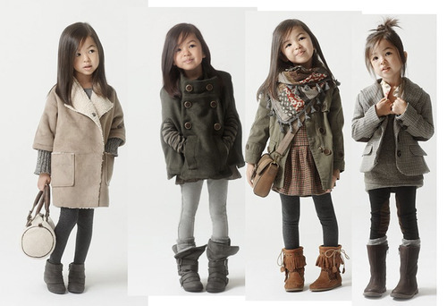 roo-la-la:  aaahhh!!  ADORBS! You best believe I'll be styling my daughters like this.