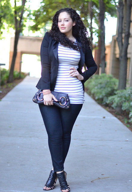 Outfit inspiration and fashion advice for curvy girls of all sizes, GirlWithCurves