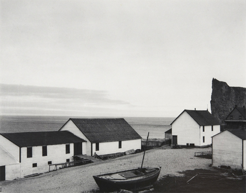 invisiblestories: Paul Strand, Percé Village, Gaspé, Quebec, Canada [1929]