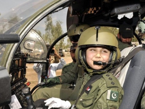 "It was like a dream come true for 12-year old Naima Gul, resident of Mingora, Swat, when she became the first female pilot of the Pakistan Army Aviation, after her wish was granted by Chief of Army Staff (COAS) General Ashfaq Pervez Kayani on Tuesday. ""I don't know how long I will live, but today my dream has come true,"" Naima said, speaking at her induction ceremony. Thank you to rabshak for suggesting this post (via pak-socioeconomy, heckyeahpakistan)  Follow us on Facebook 