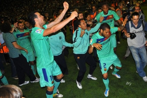 omg my Brazilians <3 & whoa… dancing Sergio?!
