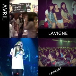 AVRIL CONCERT WAS AWESOME!!! ;) ♥ ♥ ♥ ♥ ♥