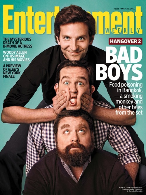 This week in EW: The stars of The Hangover: Part II share wild tales from the set.