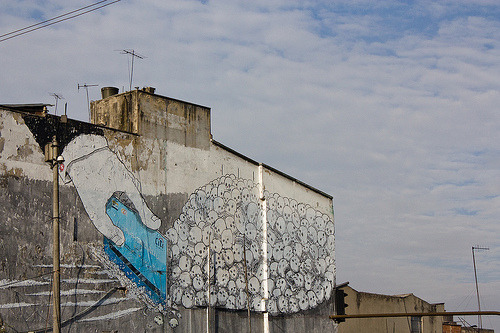 Blu en Bogotá (by • ata • plaxy •)  Oldie but goodie.
