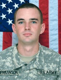(via Flags ordered to half-staff today for fallen soldier with local ties — Walworth County Today) If you see flags flying at half-staff today, it's in honor of Sgt. Matthew Hermanson, the husband of Elkhorn High grad Rachel Hermanson. Matthew was killed last month in Afghanistan.