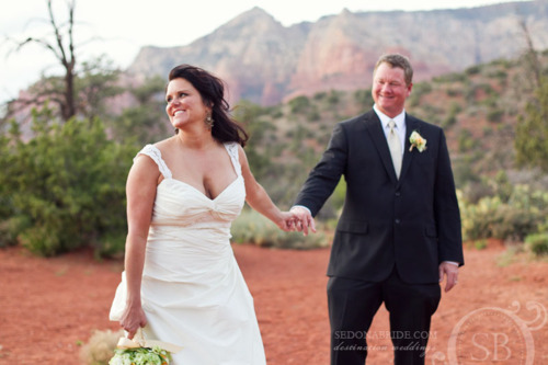 marnie and shannon { sneek peak } sedona wedding