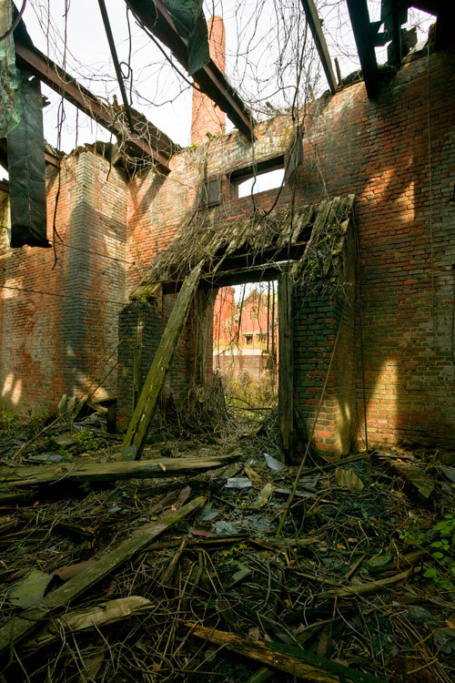North Brother Island, coal house