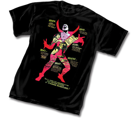 Deadman: Strange Adventures t-shirt, $17.95-$21.95, Graphitti Designs [coming soon] As a Boston girl who doesn't own any Red Sox attire, I've been told that my wardrobe lacks any Boston branding. So I'm pretty sure that means that I need to get this shirt, right?