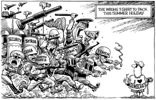 theeconomist:  KAL's cartoon: this week, a tourist.