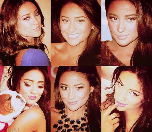 TOP 10 GIRL CRUSHES↳ Shay Mitchell