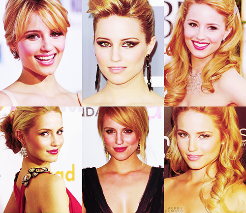 TOP 10 GIRL CRUSHES↳ Dianna Agron