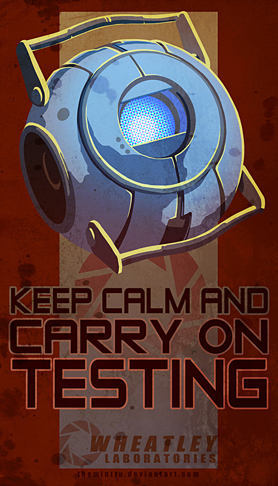 Wheatley- Keep Calm  Artist:Theminttu