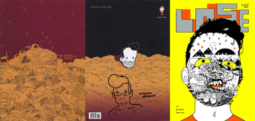 No one can seem to get enough of Michael DeForge right now (with good reason) and Lose #3 debuted to calm everyone's cravings. If you haven't been reading his work, do yourself a favor and check it out. Big thanks to Chris Pitzer for hooking me up with the first issue I've been after.
