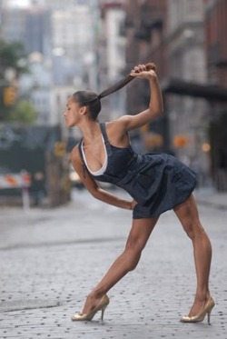 ballet dancers can be fierce as hell.