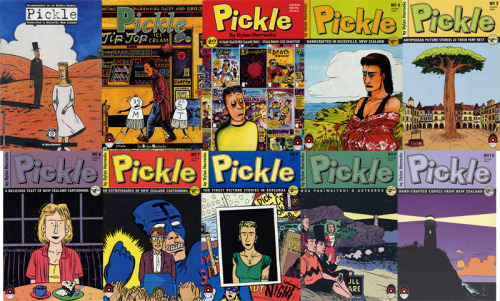 I was missing a few issues of Dylan Horrocks' outstanding series, Pickle, but could never remember which ones I needed. The Beguiling had a good deal on the full set, so I grabbed that to just be done with the search.