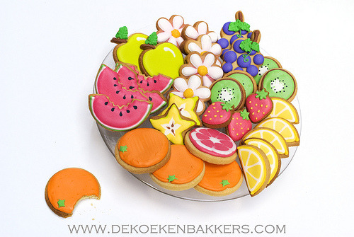 Fruit cookies (by De Koekenbakker)