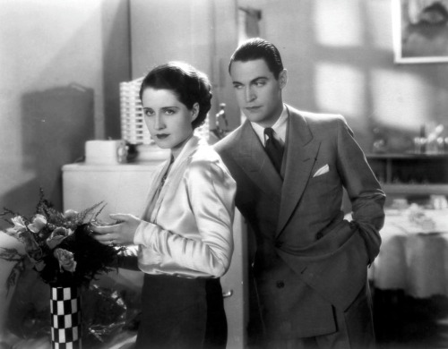 Here's Norma and Chester for you. A still from The Divorcee 1930.