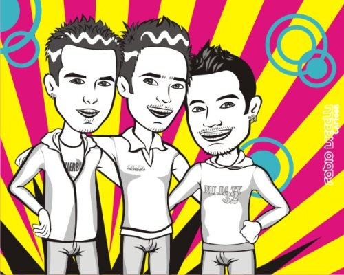 Amizade Pop Art  - Me and best friends