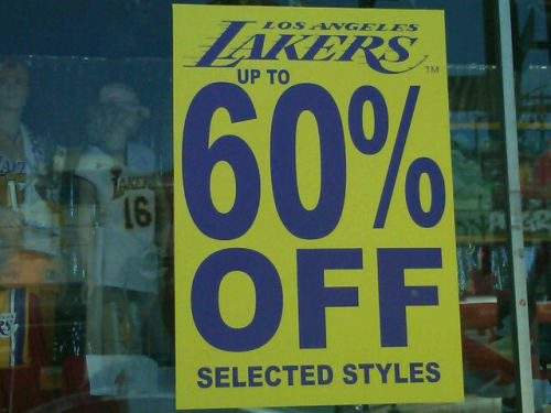 """That Lakers sale sure started fast."" - @darrenrovell"